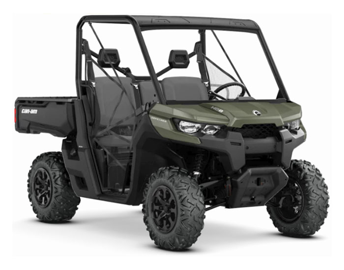 2019 Can-Am Defender DPS HD8 in Hollister, California