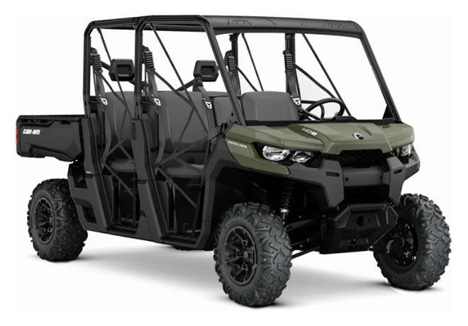 2019 Can-Am Defender MAX DPS HD8 in Wilmington, Illinois