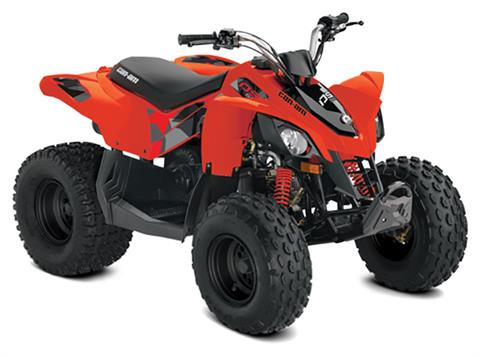 2020 Can-Am DS 90 in Colebrook, New Hampshire