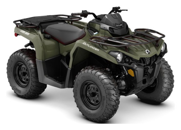 2020 Can-Am Outlander 450 in Elk Grove, California - Photo 1