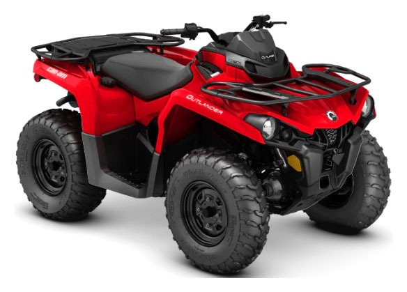 2020 Can-Am Outlander 450 in Derby, Vermont - Photo 1
