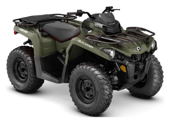 2020 Can-Am Outlander 570 in Hudson Falls, New York - Photo 1