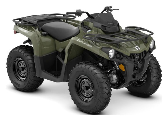 2020 Can-Am Outlander DPS 450 in Hillman, Michigan - Photo 1