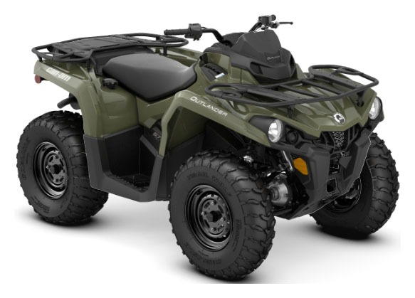 2020 Can-Am Outlander DPS 570 in Barre, Massachusetts - Photo 1