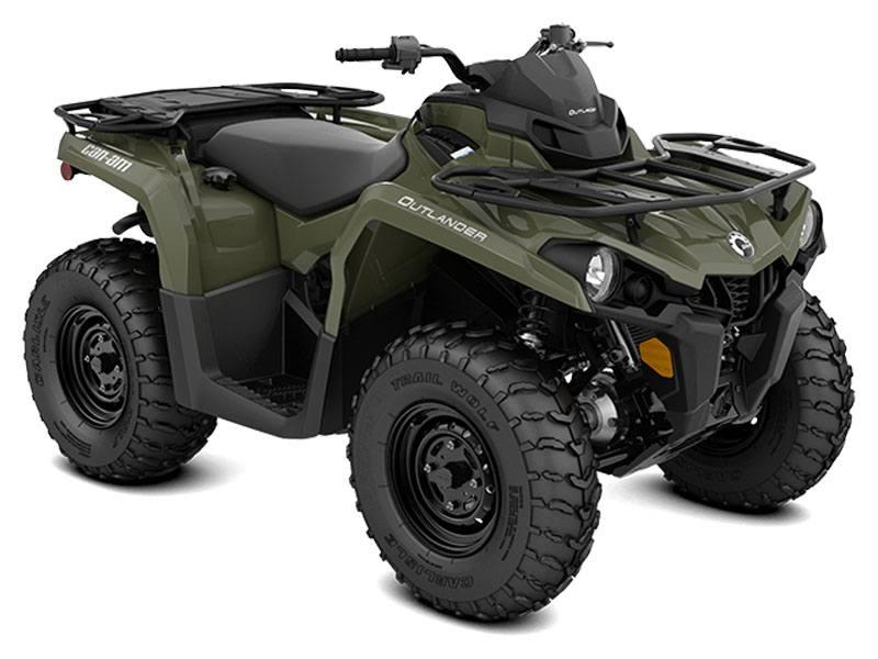 2020 Can-Am Outlander DPS 570 in Saint Johnsbury, Vermont - Photo 1
