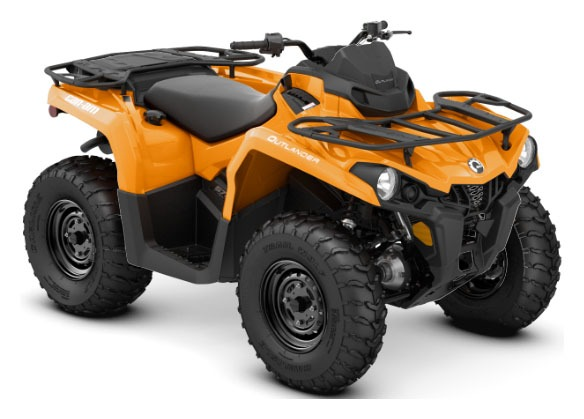 2020 Can-Am Outlander DPS 570 in Derby, Vermont - Photo 1