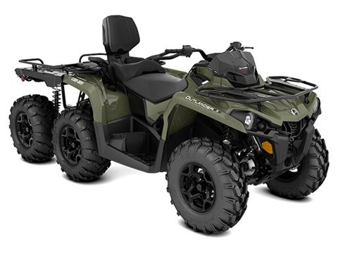 2020 Can-Am Outlander MAX 6X6 DPS 450 in Bennington, Vermont