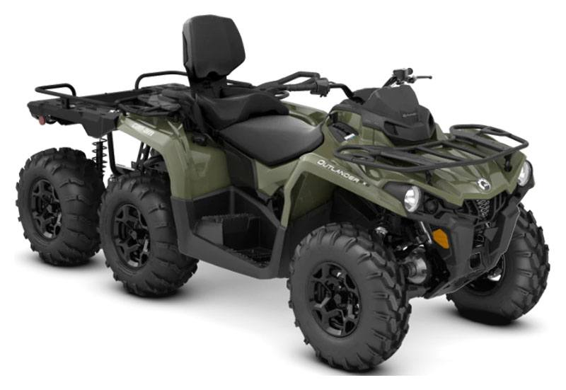 2020 Can-Am Outlander MAX 6X6 DPS 450 in Honeyville, Utah