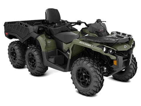 2020 Can-Am Outlander MAX 6X6 DPS 650 in Hollister, California
