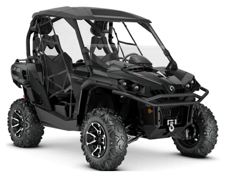 2020 Can-Am Commander Limited 1000R in Elk Grove, California - Photo 1