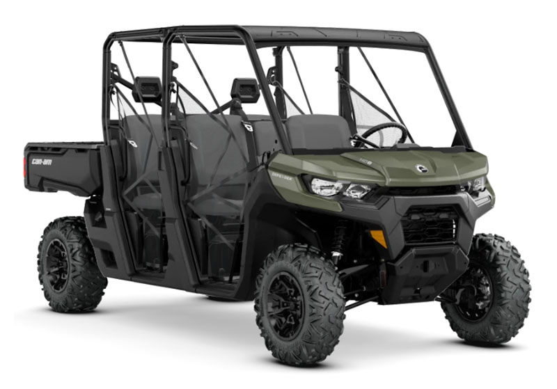 2020 Can-Am Defender MAX DPS HD8 in Castaic, California - Photo 1