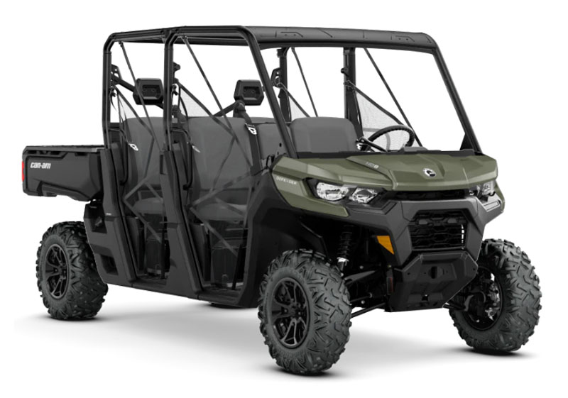2020 Can-Am Defender MAX HD8 in Chesapeake, Virginia - Photo 1