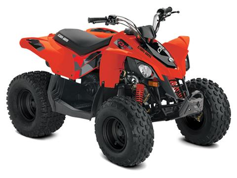 2021 Can-Am DS 70 in Colebrook, New Hampshire