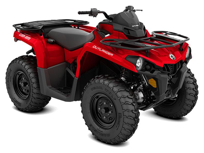 2021 Can-Am Outlander 570 in Claysville, Pennsylvania - Photo 8
