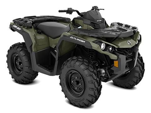 2021 Can-Am Outlander 650 in Colebrook, New Hampshire