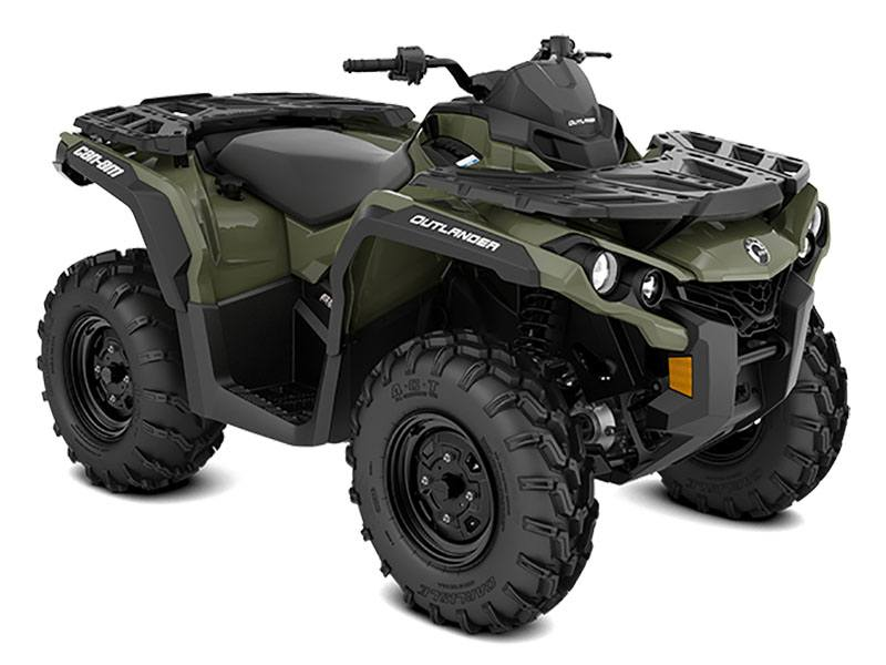2021 Can-Am Outlander 850 in Victorville, California