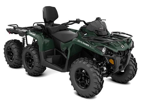 2021 Can-Am Outlander MAX 6x6 DPS 450 in Woodruff, Wisconsin