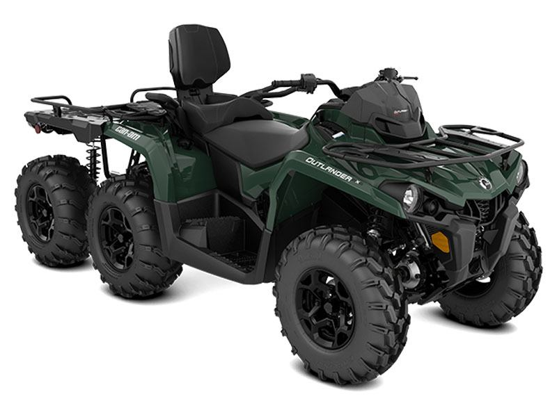 2021 Can-Am Outlander MAX 6x6 DPS 450 in Algona, Iowa - Photo 1