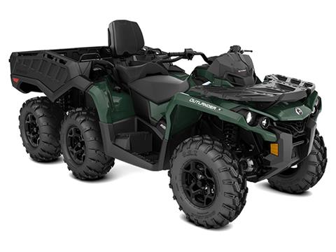 2021 Can-Am Outlander MAX 6X6 DPS 650 in Barre, Massachusetts
