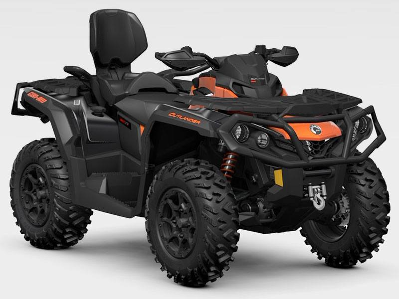 2021 Can-Am Outlander MAX XT-P 1000R in Hollister, California
