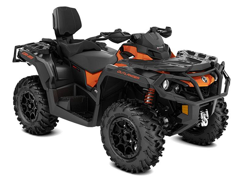 2021 Can-Am Outlander MAX XT-P 850 in Stillwater, Oklahoma