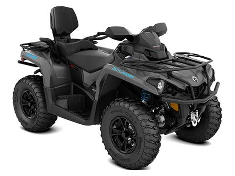 2021 Can-Am Outlander MAX XT 570 in Wilmington, Illinois
