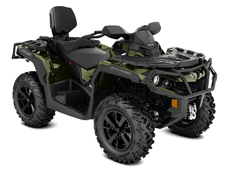 2021 Can-Am Outlander MAX XT 650 in Gunnison, Utah - Photo 1