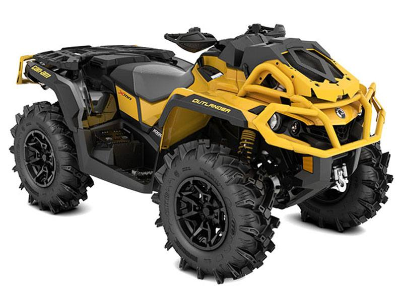 2021 Can-Am Outlander X MR 1000R with Visco-4Lok in Chesapeake, Virginia