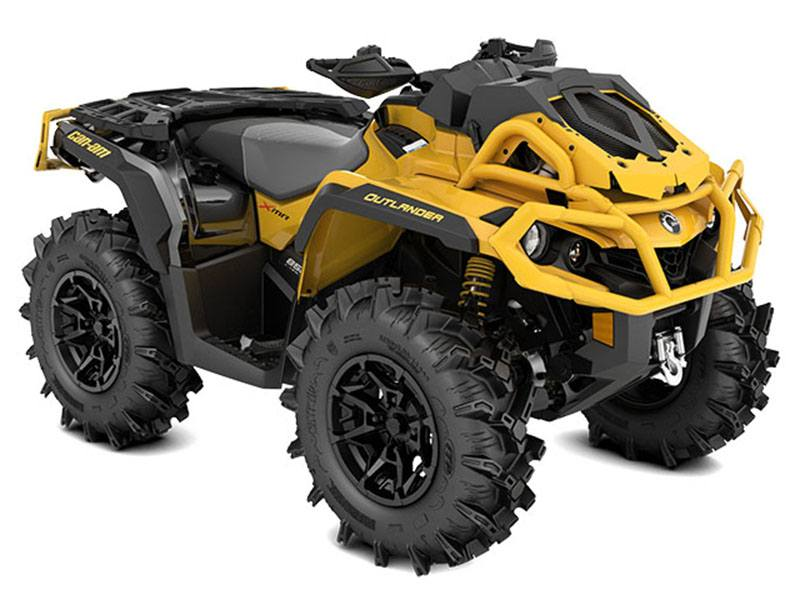 2021 Can-Am Outlander X MR 850 with Visco-4Lok in Brilliant, Ohio