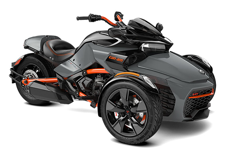 2021 Can-Am Spyder F3-S Special Series in Jones, Oklahoma