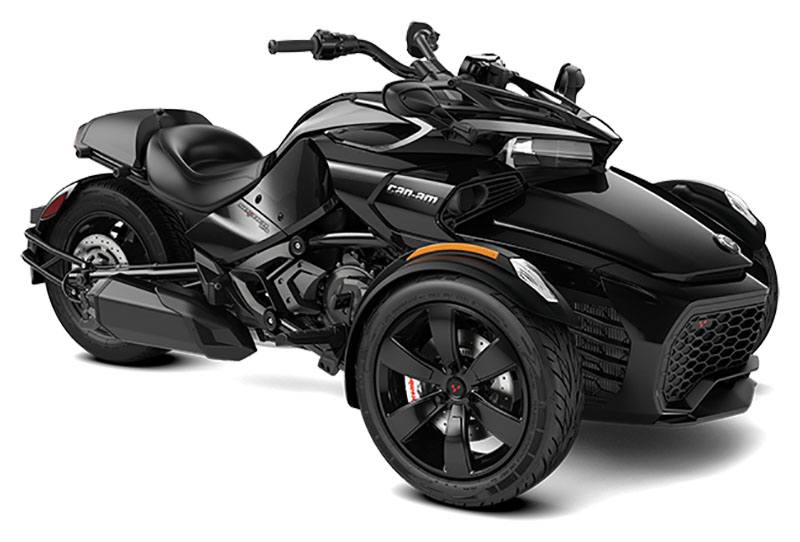 2021 Can-Am Spyder F3 in Woodinville, Washington