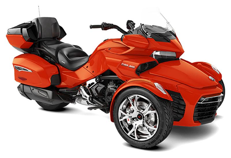 2021 Can-Am Spyder F3 Limited in Rexburg, Idaho