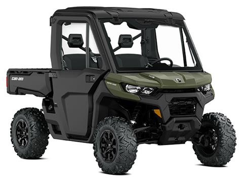 2021 Can-Am Defender DPS CAB HD8 in Colebrook, New Hampshire