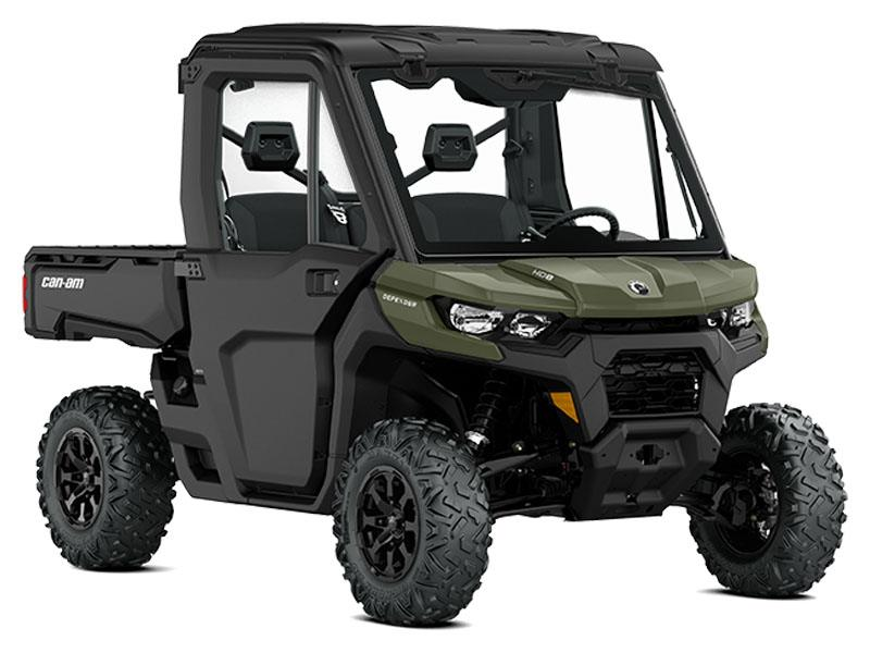 2021 Can-Am Defender DPS CAB HD8 in Castaic, California - Photo 1