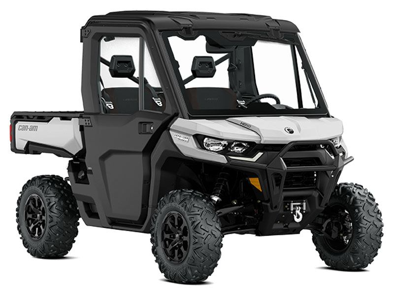 2021 Can-Am Defender Limited HD10 in Derby, Vermont