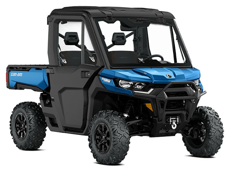 2021 Can-Am Defender Limited HD10 in Woodruff, Wisconsin