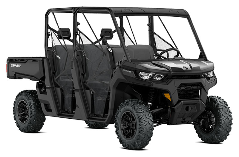 2021 Can-Am Defender MAX DPS HD8 in Augusta, Maine