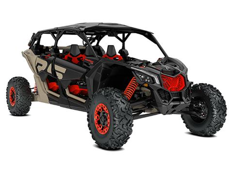 2021 Can-Am Maverick X3 MAX X RS Turbo RR with Smart-Shox in Bennington, Vermont