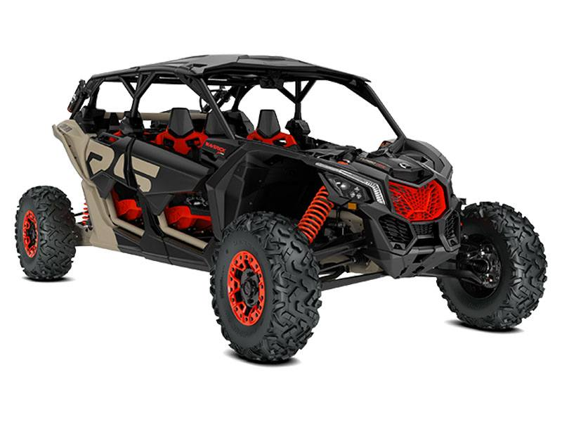 2021 Can-Am Maverick X3 MAX X RS Turbo RR with Smart-Shox in Franklin, Ohio