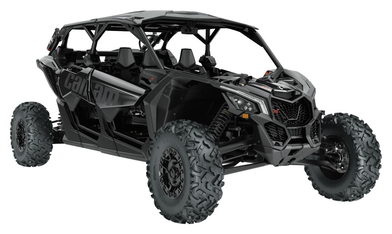 2021 Can-Am Maverick X3 MAX X RS Turbo RR with Smart-Shox in Warrenton, Oregon - Photo 1