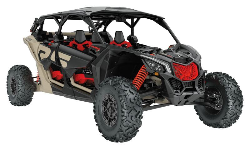 2021 Can-Am Maverick X3 MAX X RS Turbo RR with Smart-Shox in Santa Rosa, California - Photo 1