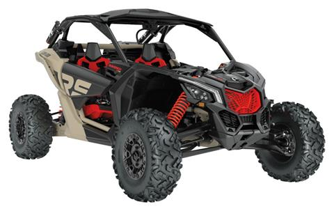 2021 Can-Am Maverick X3 X RS Turbo RR with Smart-Shox in Bennington, Vermont