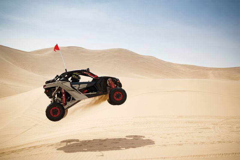 2021 Can-Am Maverick X3 X RS Turbo RR with Smart-Shox in Victorville, California - Photo 4