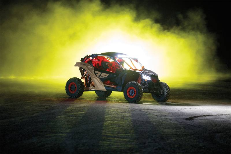 2021 Can-Am Maverick X3 X RS Turbo RR with Smart-Shox in Cambridge, Ohio - Photo 7
