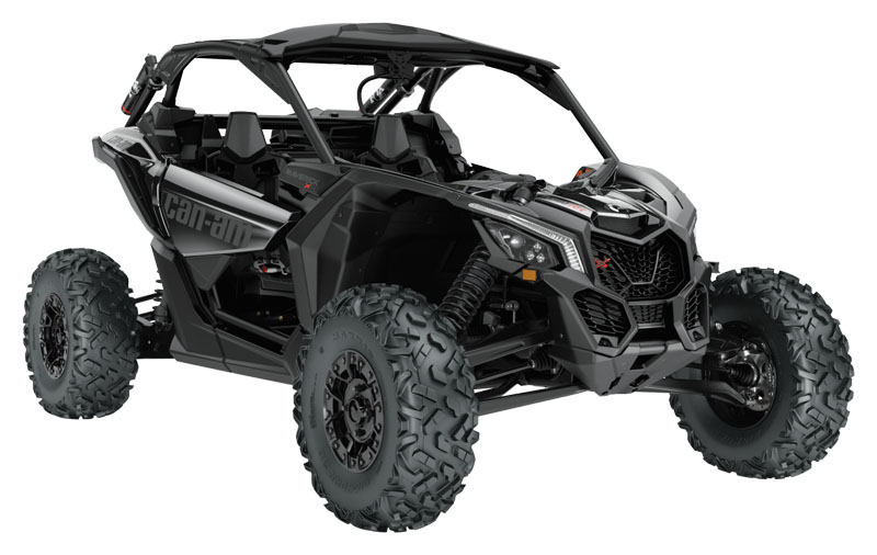 2021 Can-Am Maverick X3 X RS Turbo RR with Smart-Shox in Afton, Oklahoma - Photo 1