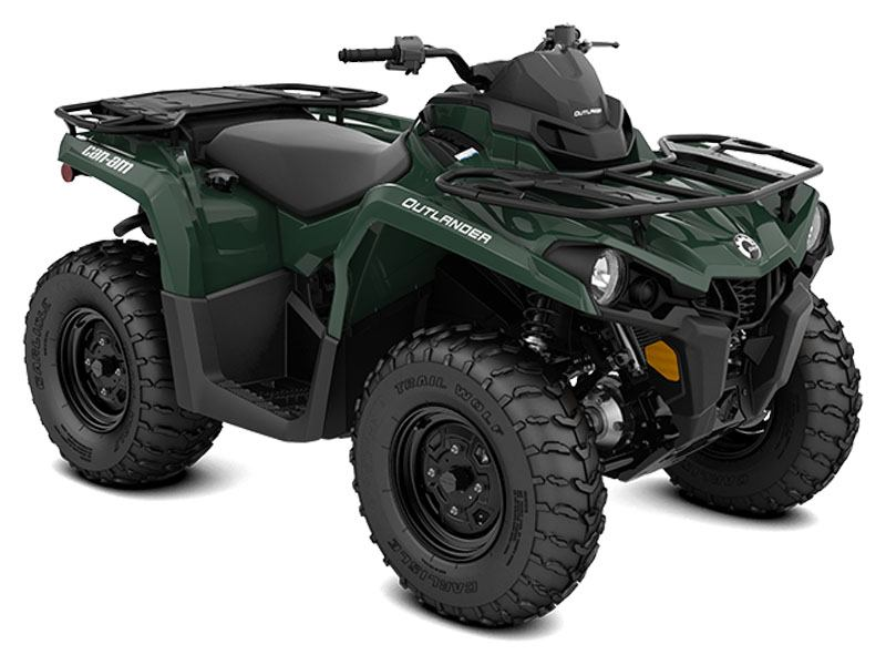 2021 Can-Am Outlander 570 in Hillman, Michigan