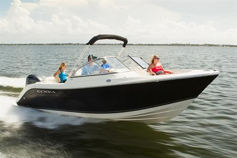 2019 Cobia 220 Dual Console in Chesapeake, Virginia