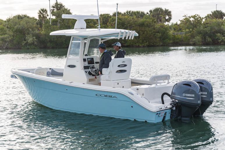 2021 Cobia 240 Center Console in Chesapeake, Virginia - Photo 2