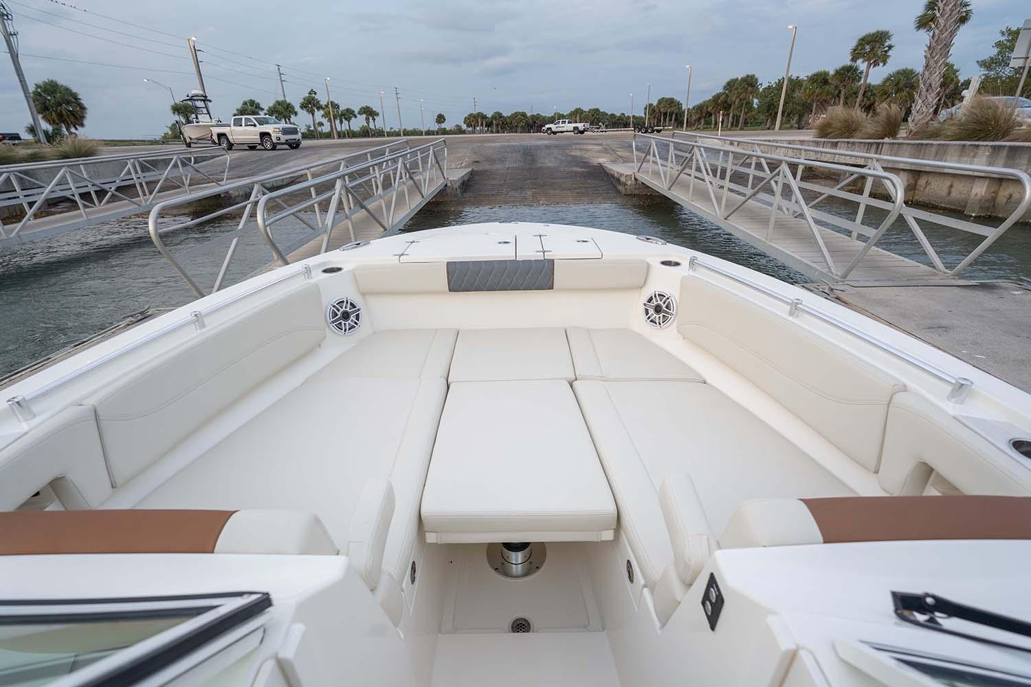 2021 Cobia 330 Dual Console in Chesapeake, Virginia - Photo 2