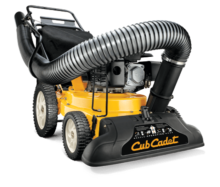 Cub Cadet CSV 050 Chipper Shredder Vacuum in Hillman, Michigan